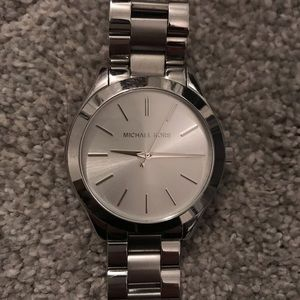 Michael Kors silver watch *small wrists